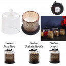 black bell candle chic spa 13x11cm, 3-fold assort