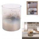 photophore pour 2 bougies chauffe-plat h12cm