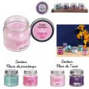 grossiste Maison et habitat: bougie parfumee pot amitie h6.5cm, 4-fois assorti