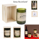 wholesale Home & Living: wine bottle candle, 2- times assorted