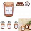 wholesale Drugstore & Beauty: soy wax candle 5.5x6.5cm, 3- times assorted