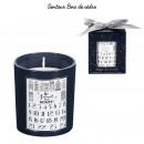 mayorista Casa y decoración: vela perfumada de adviento y caja h8cm