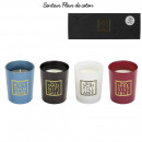 bougie parfumee x4 coffret you are h5.8cm