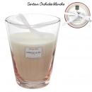 Duftkerze beige Vase Harmonie h23cm