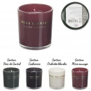 scented candle original edition h8cm, 4-fold ass