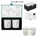 wholesale Drugstore & Beauty: scented candle coton x2 arty box h8cm