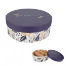wholesale Jewelry & Watches:round purple jewelry box