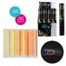 lumiostick multicolore x50