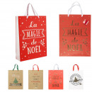 gift bag 28x8x37cm, 4- times assorted