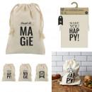 wholesale Bags & Travel accessories: bag coton reusable 23x34cm, 3- times assorted
