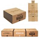 hurtownia Upominki & Artykuly papiernicze: pudełko upominkowe kraft 25x25x12cm, 3- razy miesz