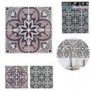 cut tiles sticker 26x26cm x2, 2-times assor
