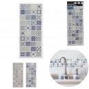 earthenware sticker x1 31x13cm, 2- times assorted