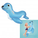 inflatable sea lion to ride 117x80cm