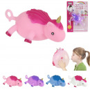 unicorn balloon to inflate 25cm, 4- times assorted