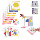educational card j learn shapes x10