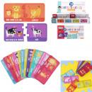 educational card j teach animals x30