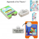Educational Card I Learn Time 24pcs, 1-Time a