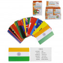 wholesale Fan Merchandise & Souvenirs: educational country map and flags, 1- times ...