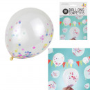 confetti balloon x10, 1- volte assortito
