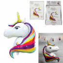 wholesale Balls & Rackets: unicorn aluminum balloon 100cm, 1- times assorted