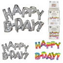wholesale Sports & Leisure: aluminum balloon Happy Birthday , 2- times assorte