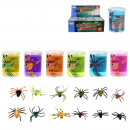 wholesale Toys: gooey paste with spider, 12- times assorted