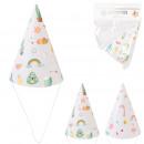 hurtownia Upominki & Artykuly papiernicze: kapelusze urodzinowe x6, 2- razy mieszany