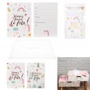 nagyker Üdvözlőkártyák: születésnapi meghívók x6, 2 szer szortírozott ...