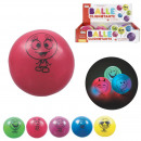 Ball light happy, 6-fold assorted