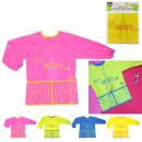 wholesale Toys: Apron kids long sleeve, 4-fold assorted
