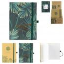 ingrosso Ufficio: notebook A6 vita naturale, 2 volte assortito