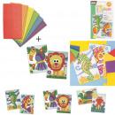 Großhandel Bausteine & Konstruktion: Spiel Schaum Mosaik, 3-mal sortiert