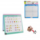 wholesale Pencils & Writing Instruments: Educational booklet and x1 felt, 1-fold ...