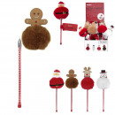 christmas character pen, 4- times assorted