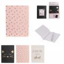 wholesale Business Equipment: a6 cat notebook, 3- times assorted
