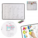 under hand educational coloring with 6 pencils, 2-