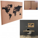 wholesale Office Utensil: world map in liege happy working