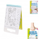 coloring book with handle 24.3x15cm
