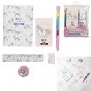 unicorn stationery accessories set