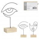 Großhandel Dekoration: Dekoration für Arty 19cm, 2- fach sortiert