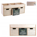 3 szuflady z przegrodami