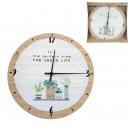 Großhandel Uhren & Wecker:grüne Marktuhr