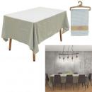 Großhandel Tischwäsche: Tischdecke rechteckiges Laubmuster 140x240cm