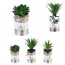 wholesale Garden & DIY store: artificial plant pot metal little market, 3-faith