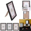 groothandel Home & Living: fotokader 10x15 luchtspiegeling, 3- maal geassorte