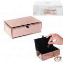 wholesale Jewelry Storage: copper mirror jewelry box