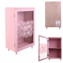 storage cupboard with pink shelf 24x40x14.5cm