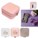 square jewelry box, 3- times assorted