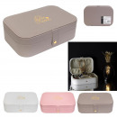 wholesale Jewelry Storage: jewelry box rectanglem18, 3-fold assorted